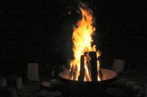 Feuerschale, Foto: I.Richter / pixelio.de