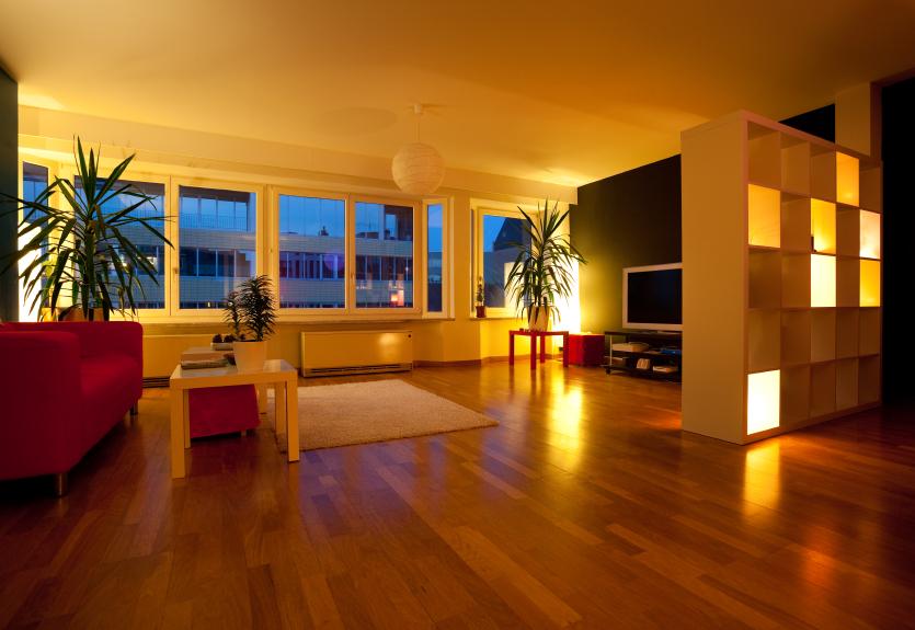 der gezielte einsatz von leuchten im innenbereich. Black Bedroom Furniture Sets. Home Design Ideas